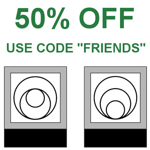 """50% OFF Friends and Family pricing: use code """"FRIENDS at checkout"""